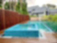 Pool Modwood Decking