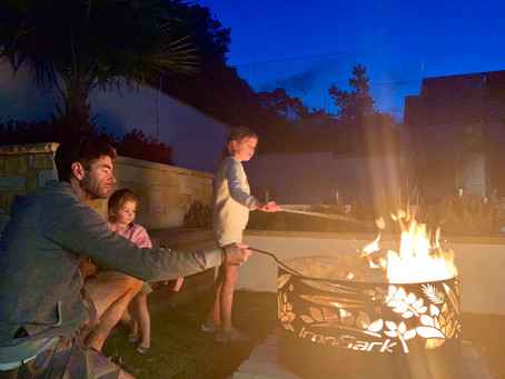 Outdoor Design Trend - Fire Pits