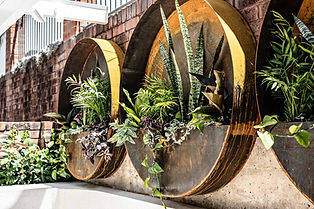 The Throsby wall planters