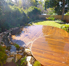 Round Timber Decks