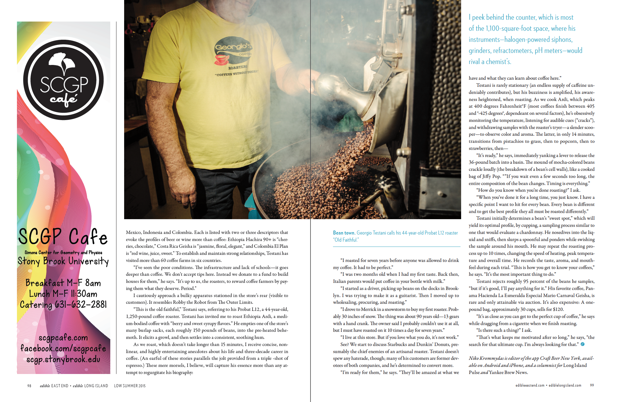 Roasting With Georgio (p.3 of 3)