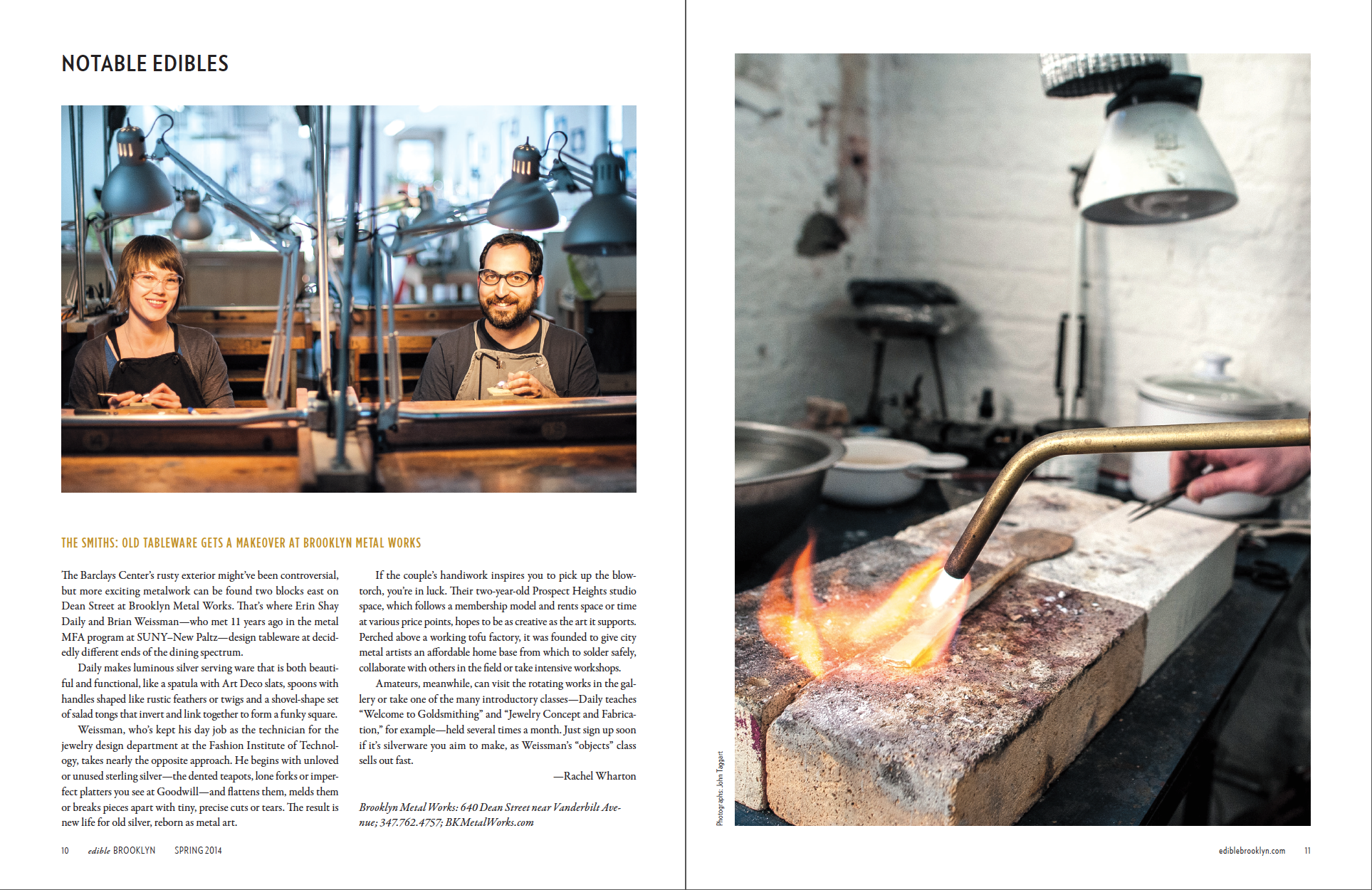 Notable Edible—Brooklyn Metal Works