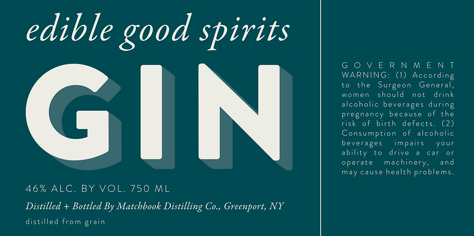 Primary Gin Label