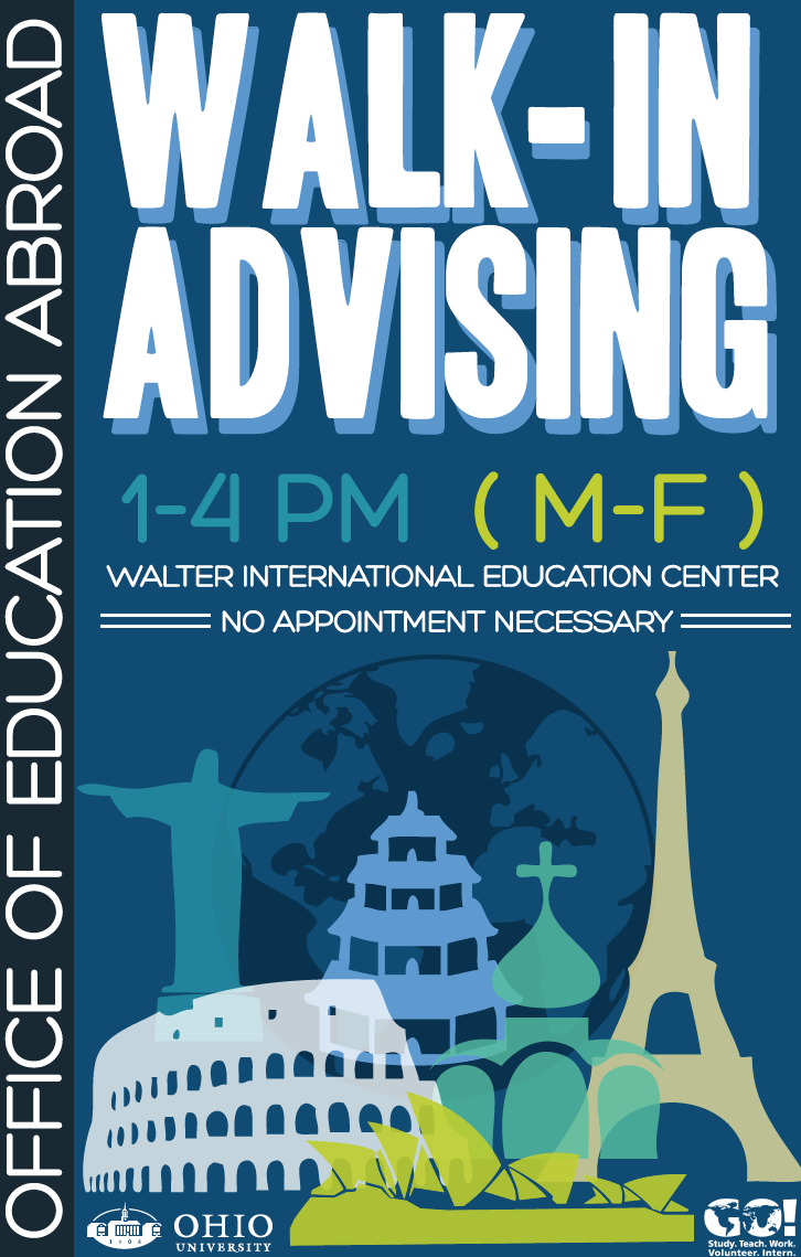 Walk In Advising Poster