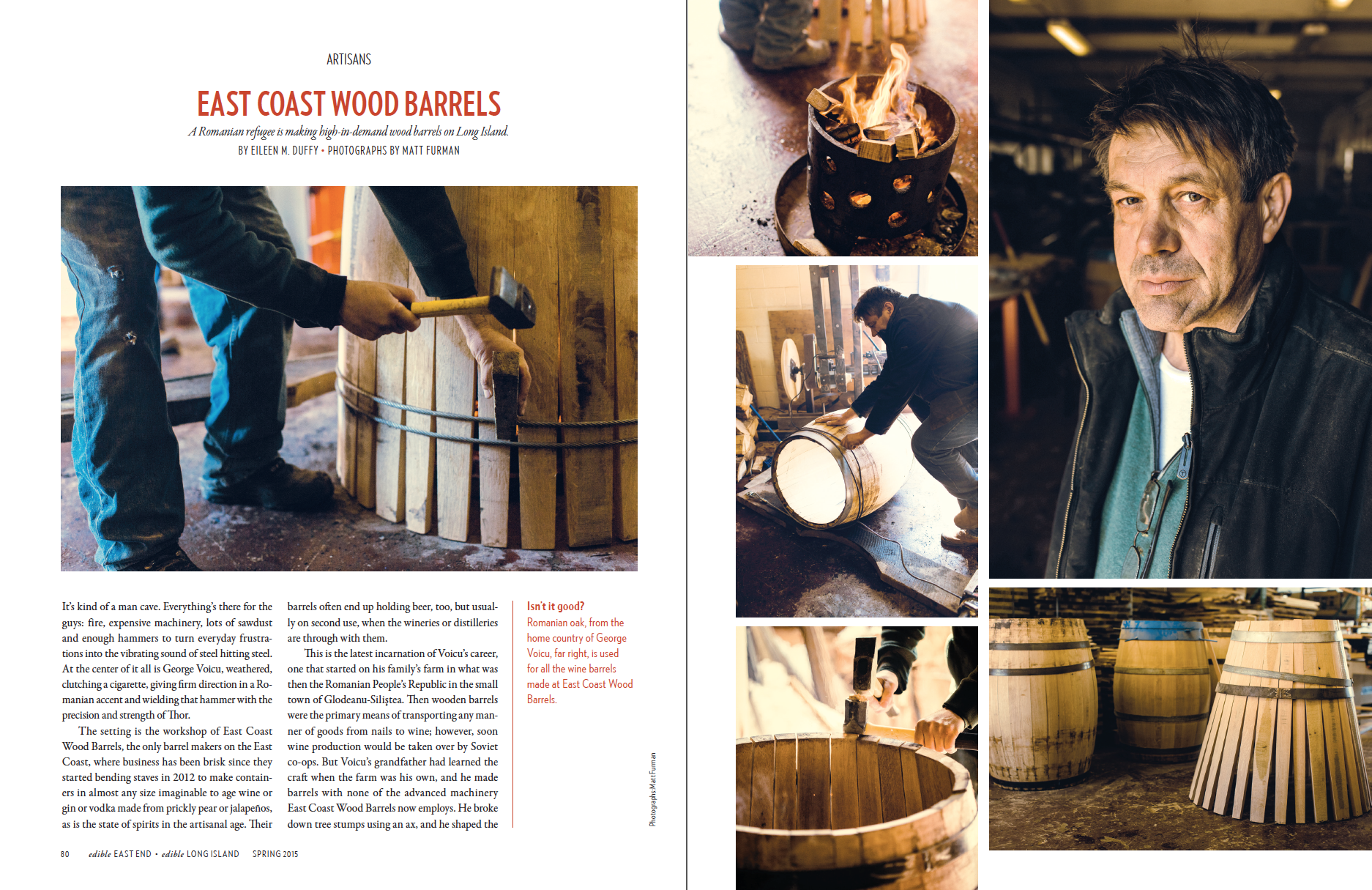 East Coast Wood Barrels (p.1 of 3)