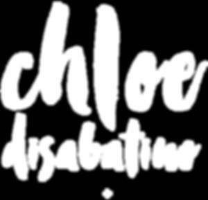 Chloe Hoeg Design Logo April 2010-white