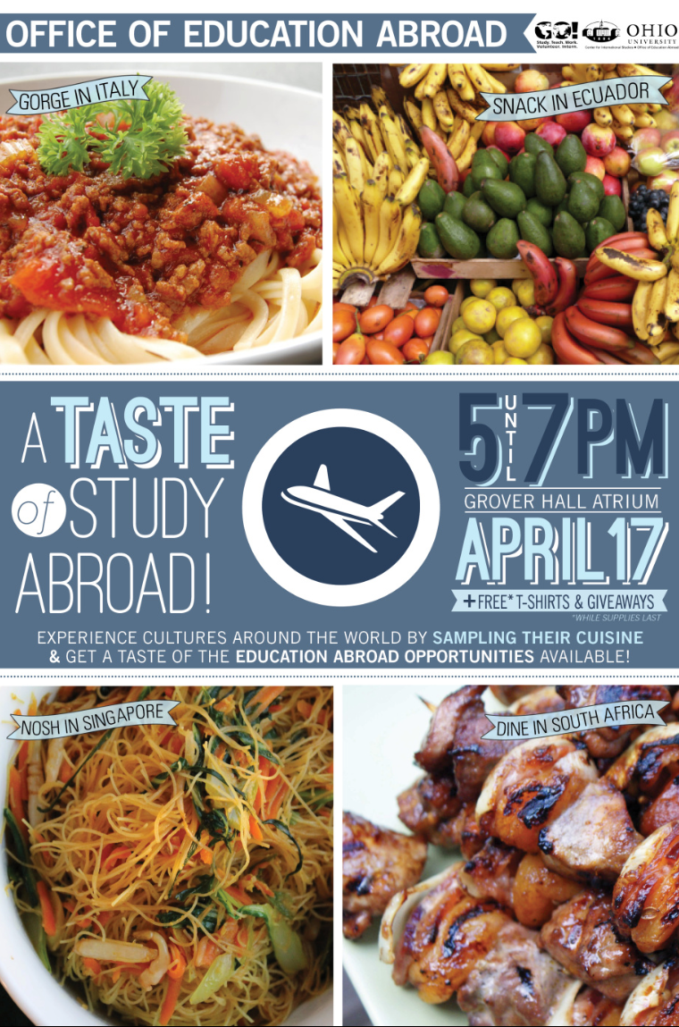 A Taste of Study Abroad