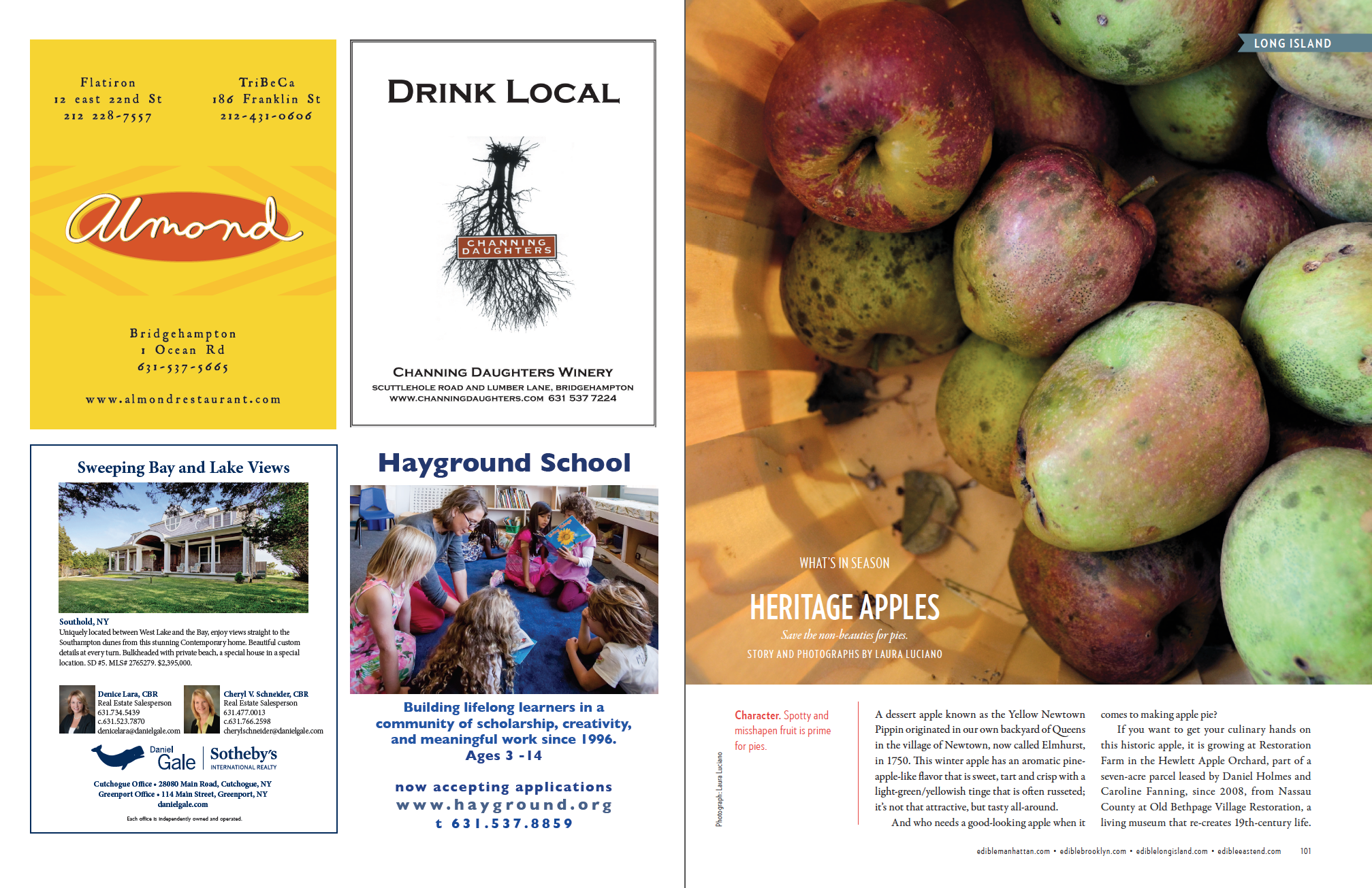 Heritage Apples (p.1 of 2)