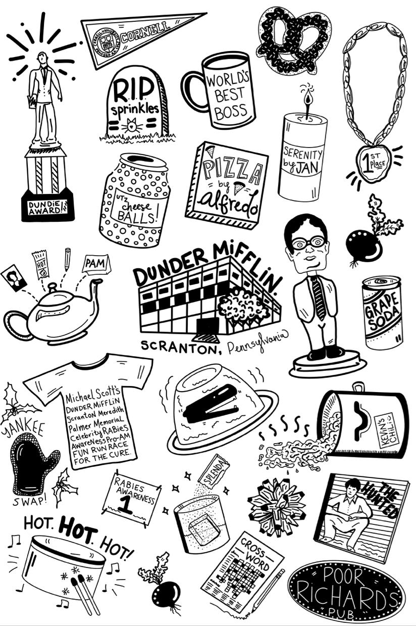 The Office | Hand Drawn | Digital