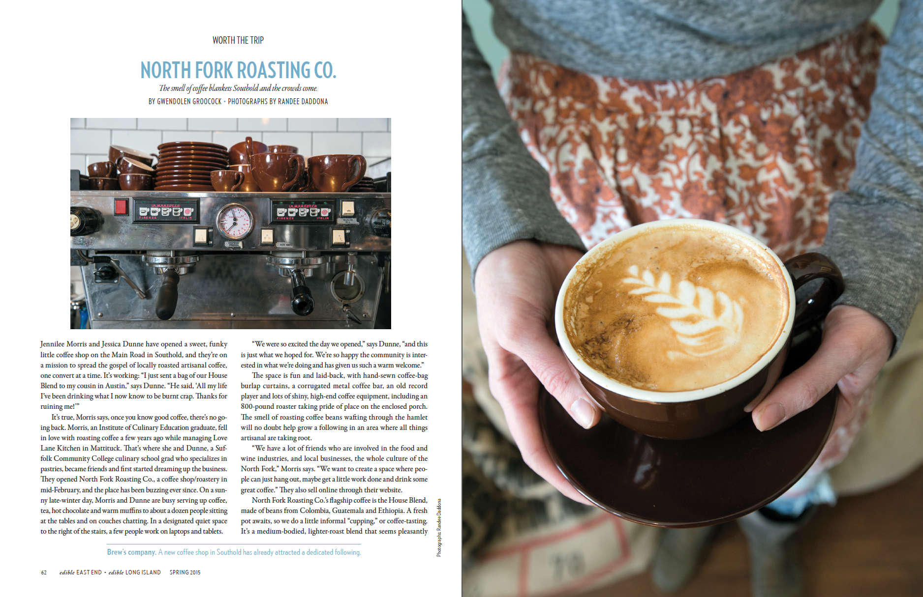 North Fork Roasting Co. (p.1 of 2)