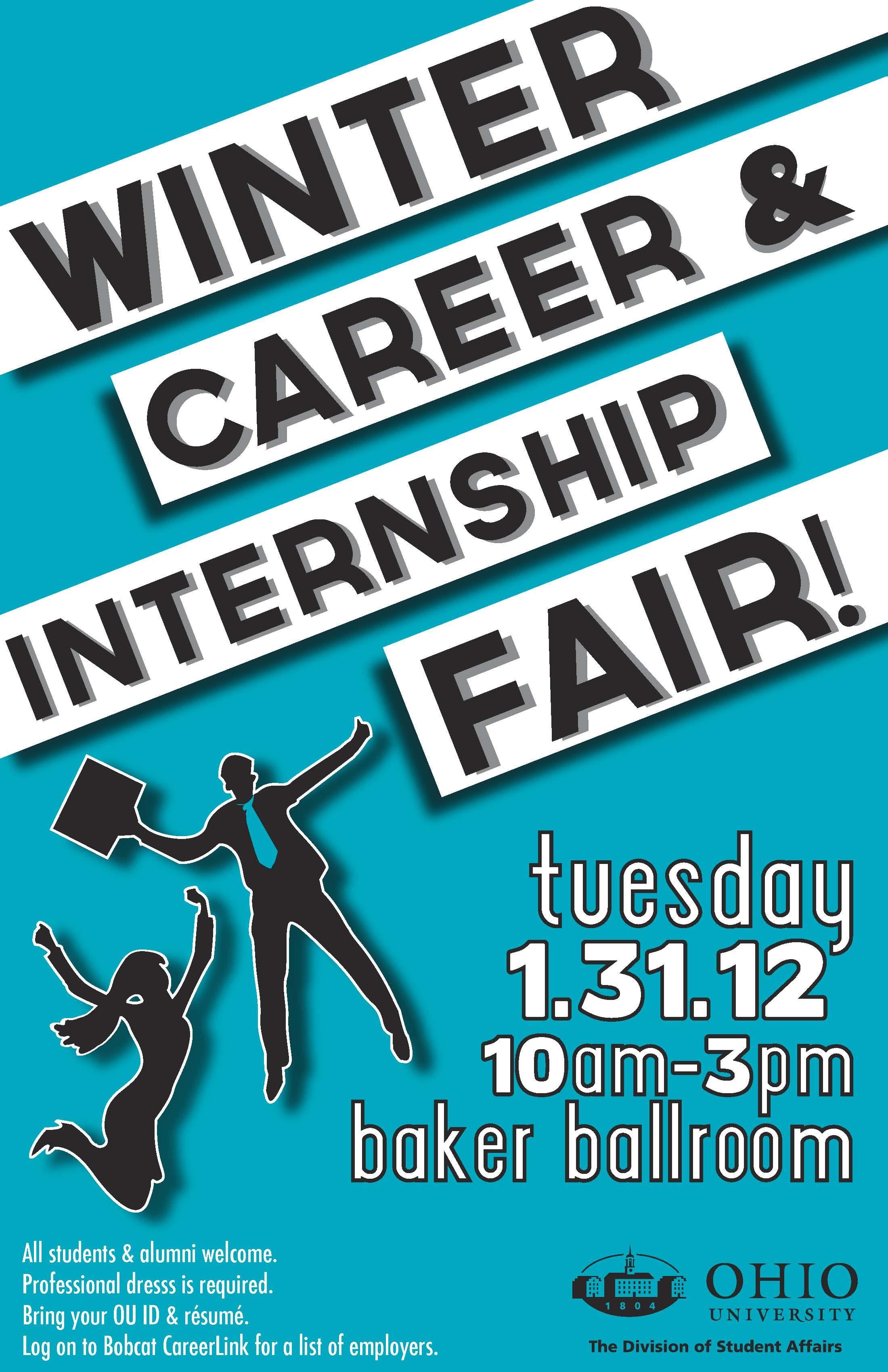 Winter Career Fair Poster copy
