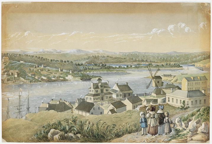 Millers Point 2 by Joseph Fowles 1845.jp
