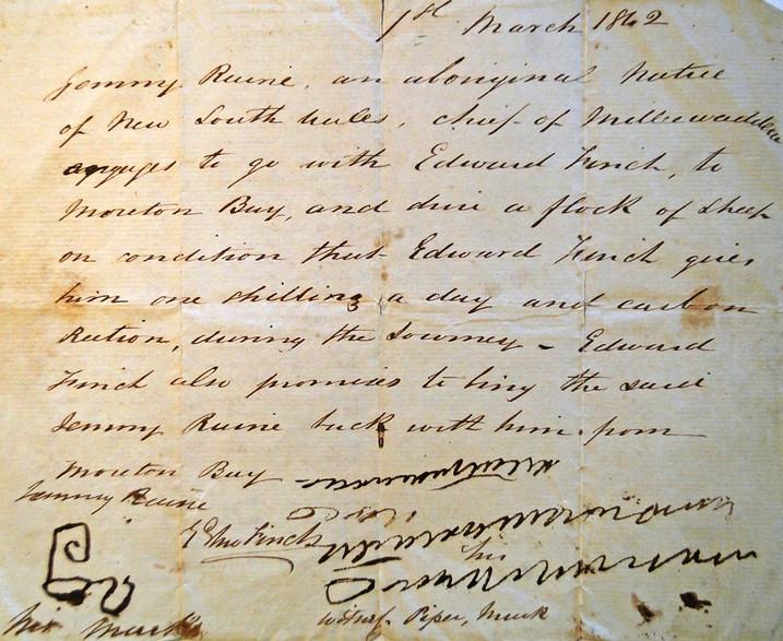Edward Finch Contract with Jemmy Raine.j