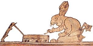 Rabbit Scribe Princeton Vase
