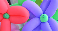 Fleurs ballon