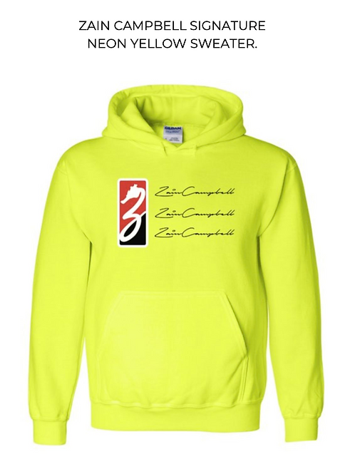 SIGNATURE NEON SWEATER