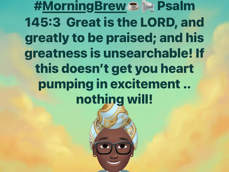 #MorningBrew☕️💗 THERE IS NOTHING that can separate us from HIS great love!