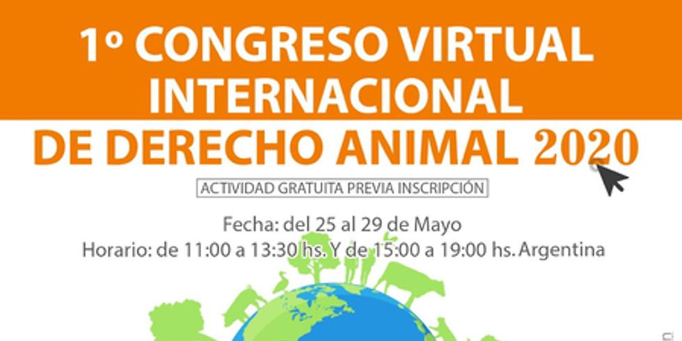 1º Congreso Virtual Internacional de Derecho Animal