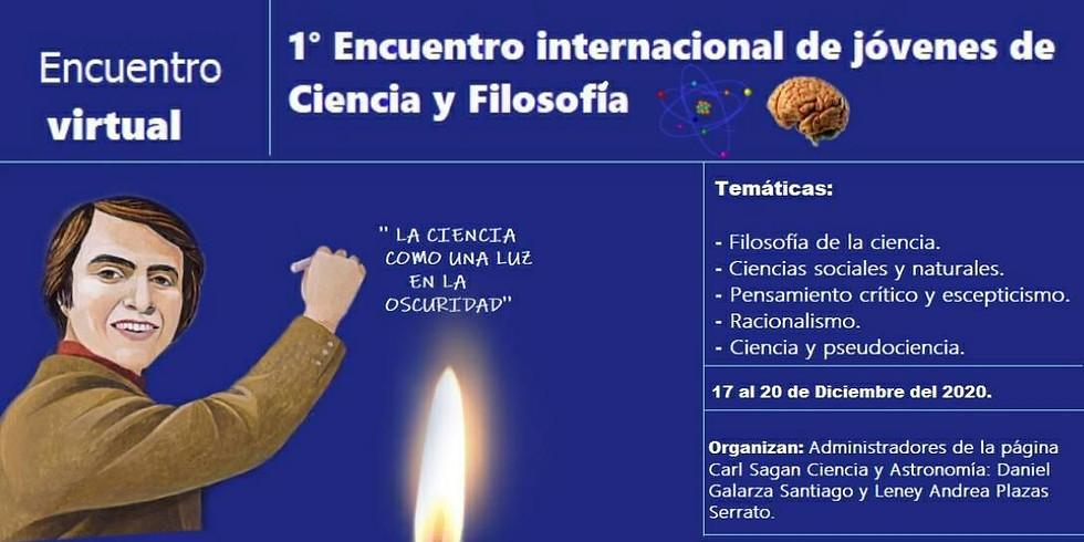 1º Encuentro Internacional de Jóvenes de Ciencia y Filosofía