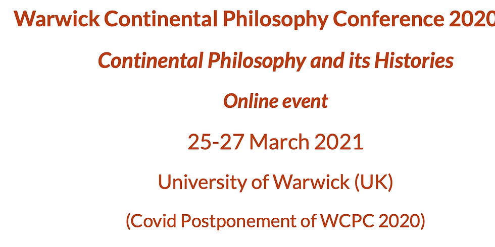 Continental Philosophy and its Histories