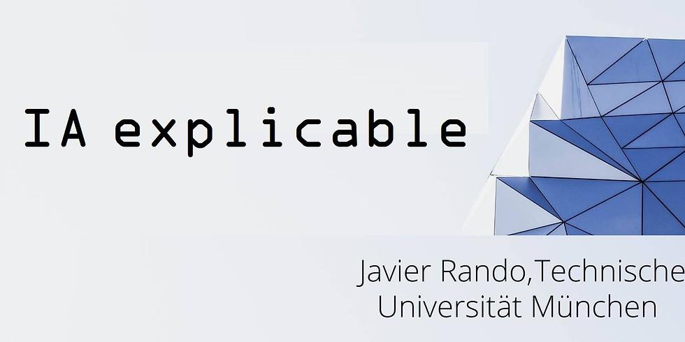 "Seminario de Estudos sobre o Futuro: ""IA explicable"", Javier Rando (TEM-Munich)"