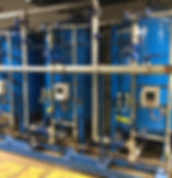 Large Industrial Skid Mounted Softening