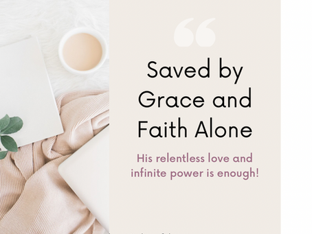 Secure by Faith Alone