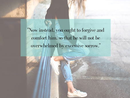 Forgiven or Forgiving