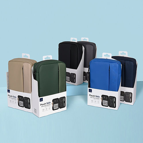 WiWU Pouch Solo Universial Portable Waterproof Shockproof Electronic Accessories