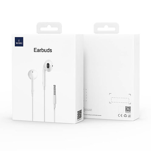 EB101, 3.5mm Audio Connector, Earphones with Mic and Volume Control