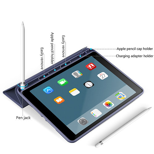 WiWU Protective PU leather case with magnetic stand for Ipad case tablet cover w