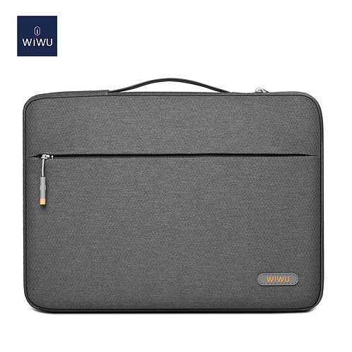 WiWU Pilot Water Resistant High-capacity Laptop Sleeve Case 13.3 14 15.6 16 inch