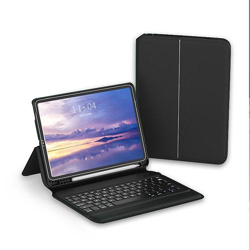 WiWU Laptops wireless bluetooth leather case keyboard with pen slot for iPad Pro