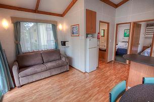 Living area - Superior 2 Bedroom Cabin.j