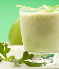 Avocado smoothie - A great source of vitamin D