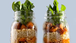 Spicy Asian Mason Salad Jar
