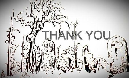 thank you graveyard drawing