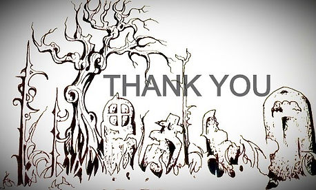 thank you graveyard drawing