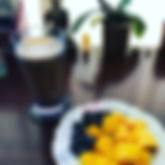 After yoga 🧘♀️ breakfast ✨_-Mandarin j