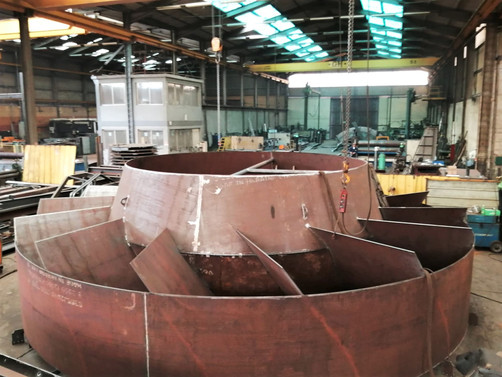 Turbine for Steel Factory