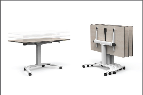 Multi-functional table by Actiu