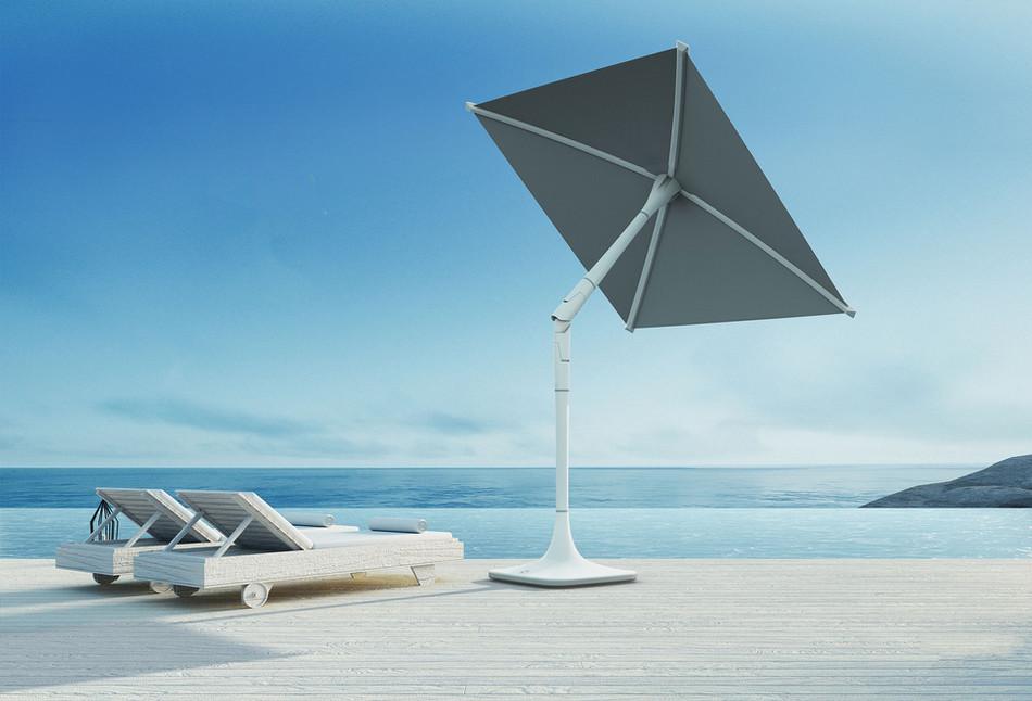 Smart iOT parasol by ShadeCraft Robotics
