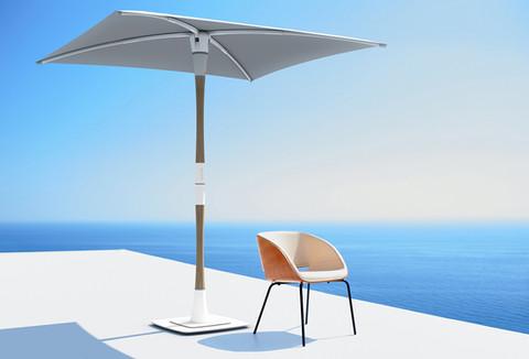 Smart solar-powered parasol by ShadeCraft Robotics