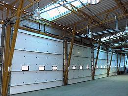 Промышленные ворота в компании Вертикаль