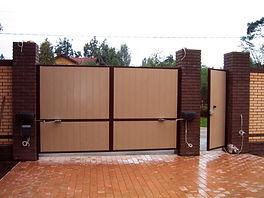 Распашные ворота в Астрахани
