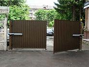 Распашные ворота заказать в Краснодаре