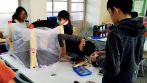 【特色辦學】虎山國小科展勇奪第一 獲邀旭光科技中心成果展示