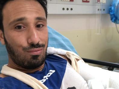מוחמד פודי נפגע באימון וסובל משבר בידו, יעבור ניתוח