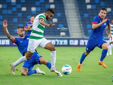חיפה ניצחה 2-0 את אשדוד: עוואד כבש ראשון את שער הבכורה של הירוקים