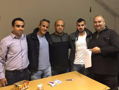 חסיב אבו רוקון חתם בבאקה אל גרבייה